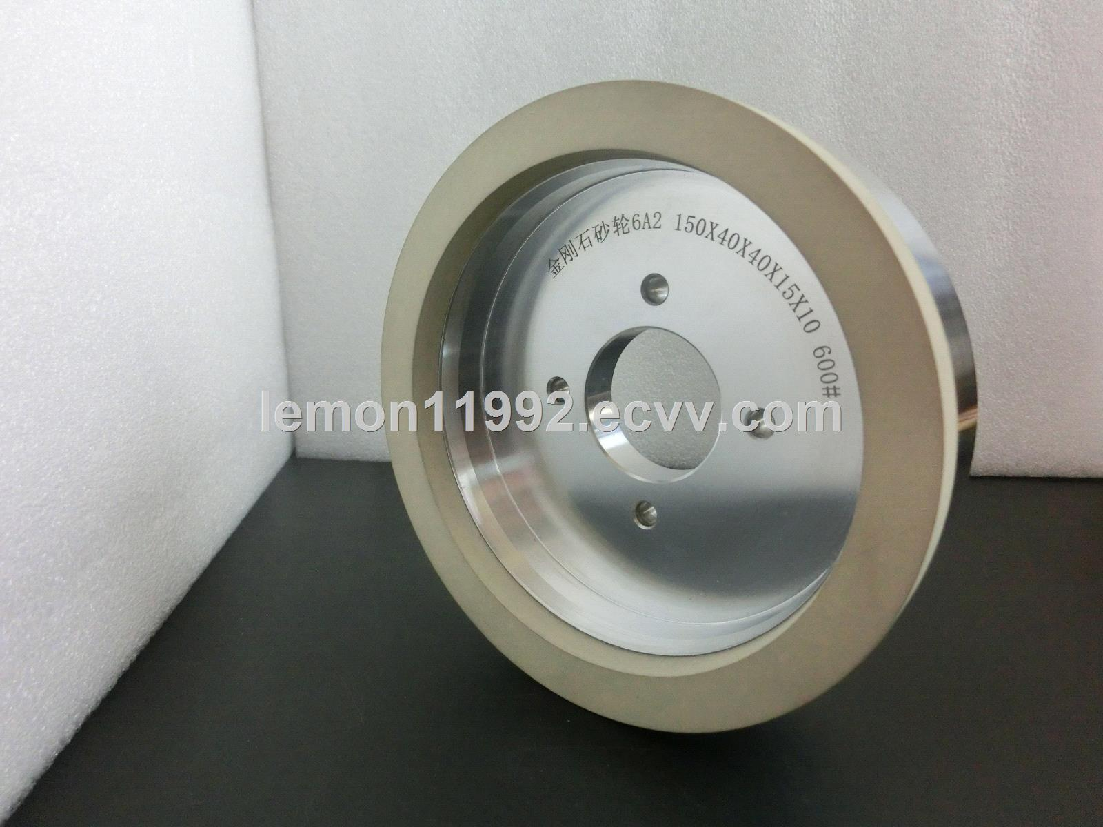 vitrified diamond gridning wheel for sharpening PCD / PCBN tools