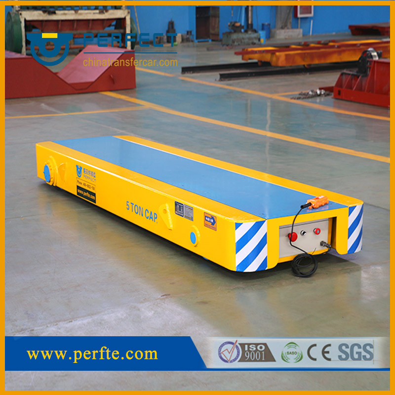 Handling system with 5t load capacity Rail Transfer Cart