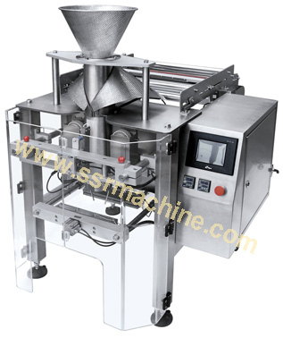 Small vertical form fill seal machine for Soft Plastic Pouch Packing P300