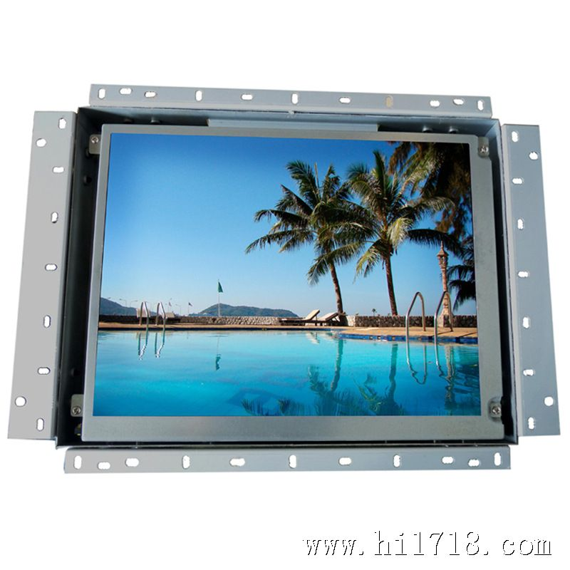 10.4-inch open frame touch LCD Display with 800 x 600 Pixels, BNC Input