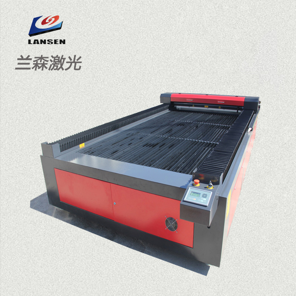 Large size Flatbed CNC Control Co2 Laser Cutting Lathe