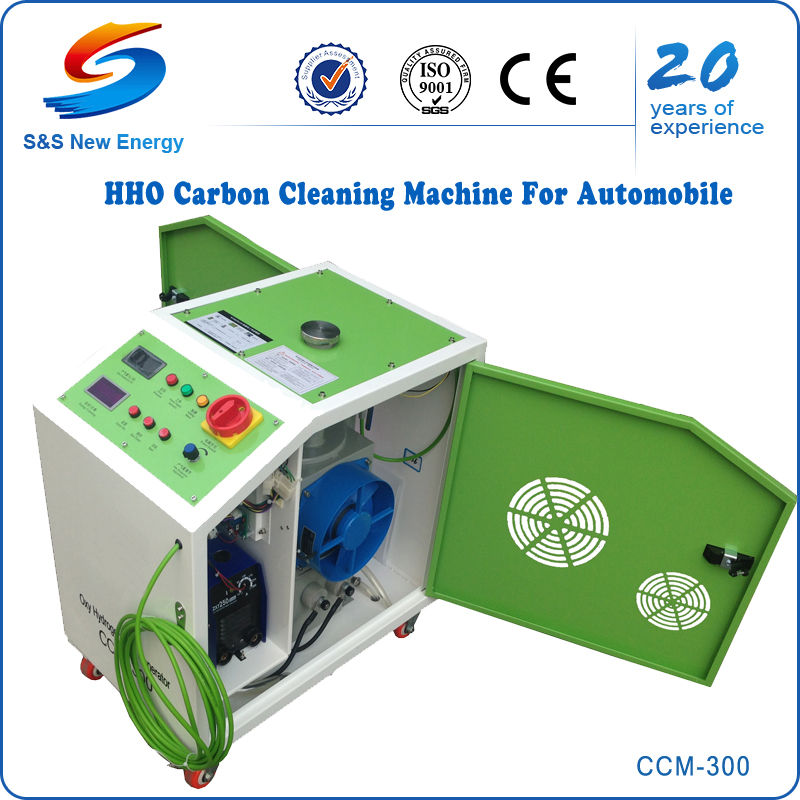 HHO Gas Generator, Motorcycle Engine Carbon Cleaning Machine CCM-300