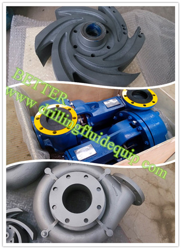 MCM 250 style centrifugal pump and spare parts