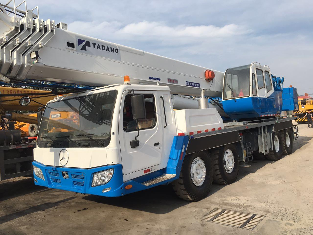 TADANO GT-1000EX Truck Crane 100 Ton, 100 Ton Japan Original TADANO Truck  Crane