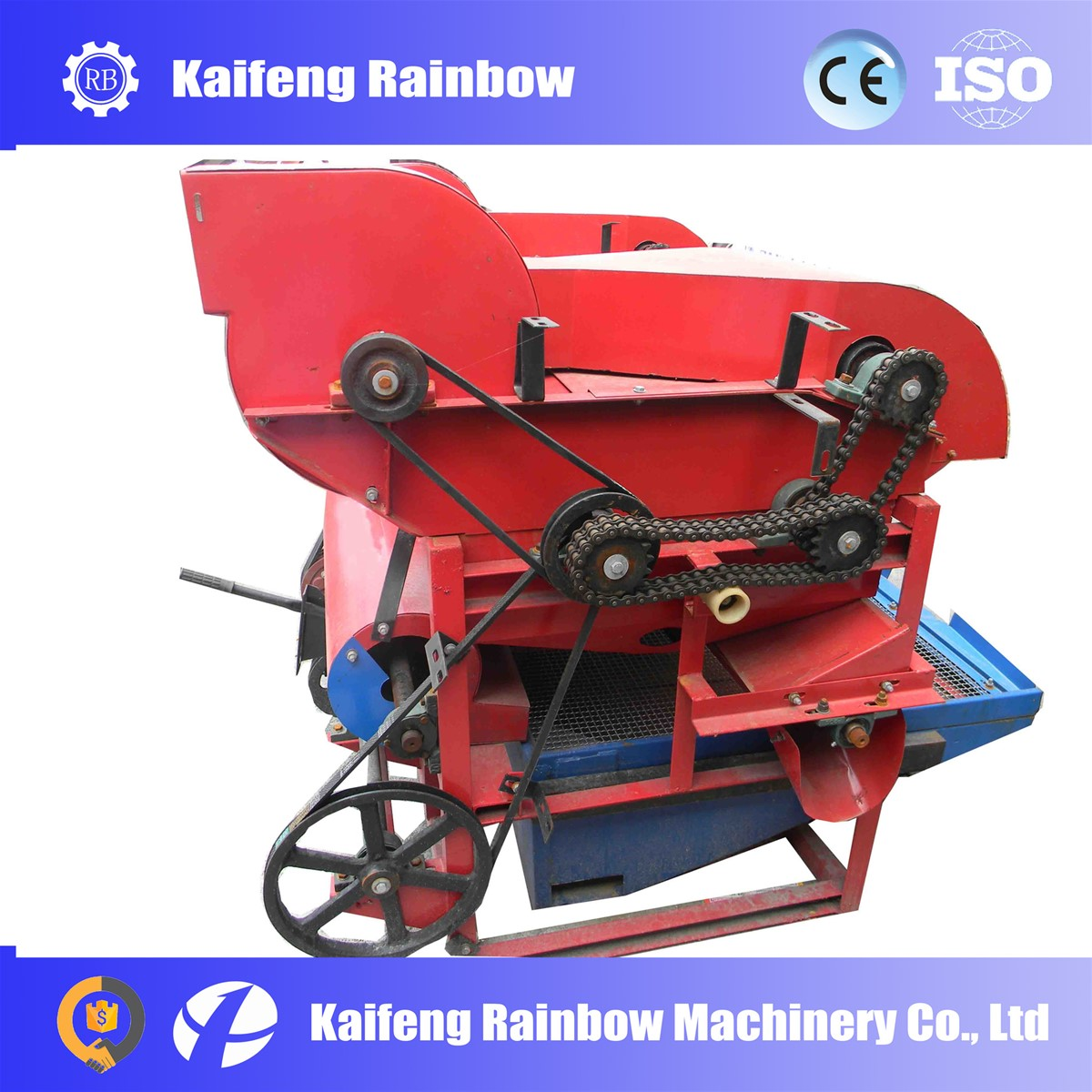 four shaft structure high reliable corn sheller for farm