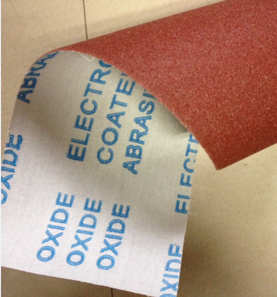 standard grade abrasive cloth roll aluminium oxide in polishing wood