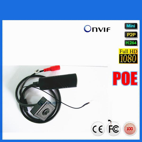 Poe Ip Camera Onvif 1080P ATM Bank Super Hidden Mini 2MP Pinhole 1080P Poe  Miniature Ip Camera