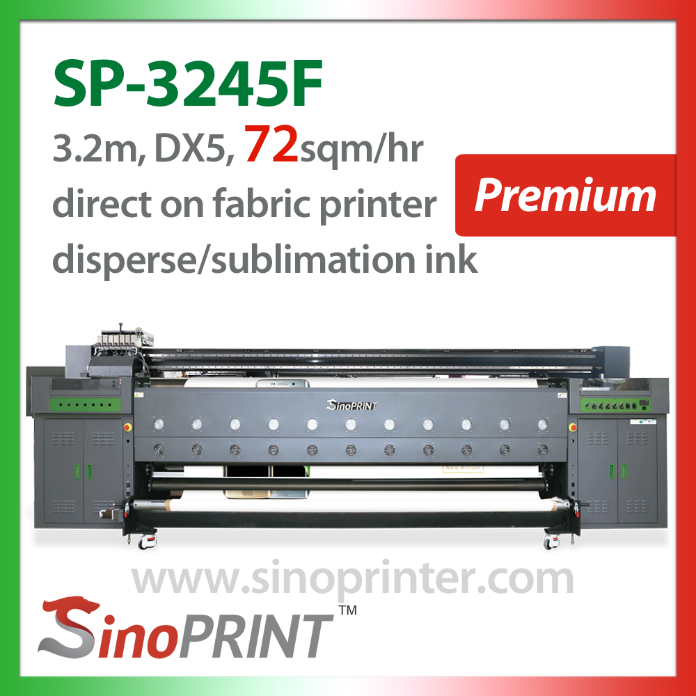 Fabric Digital large format Printer for Softsign and Textile