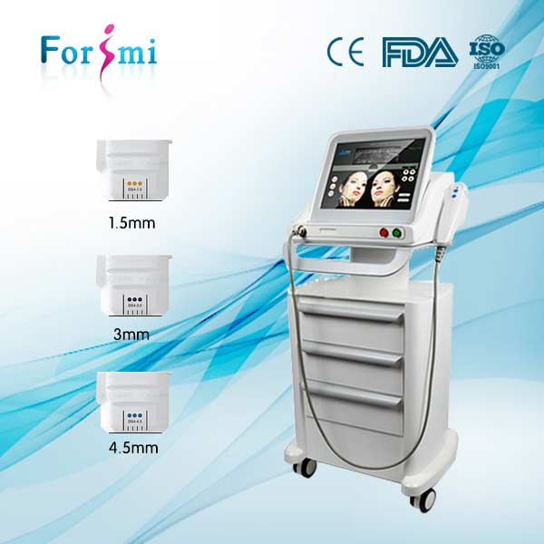 New tech high intensity focused ultrasound hifu for face lift