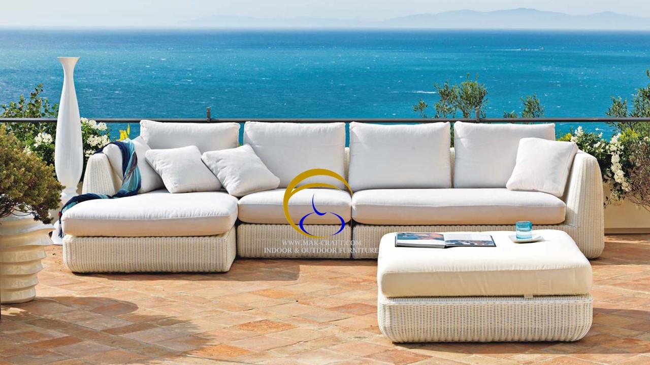 Poly Rattan Sofa Furniture From Vietnam