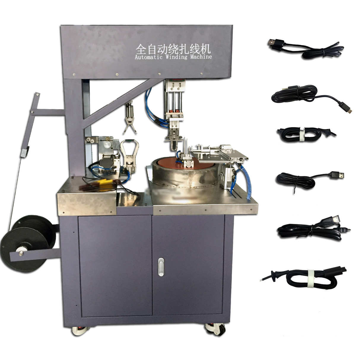 winding and binding machine full automatic packing machine for cable