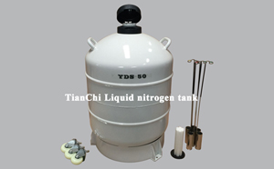 TianChi Liquid nitrogen biological container YDS-80 Good thermal insulation effect