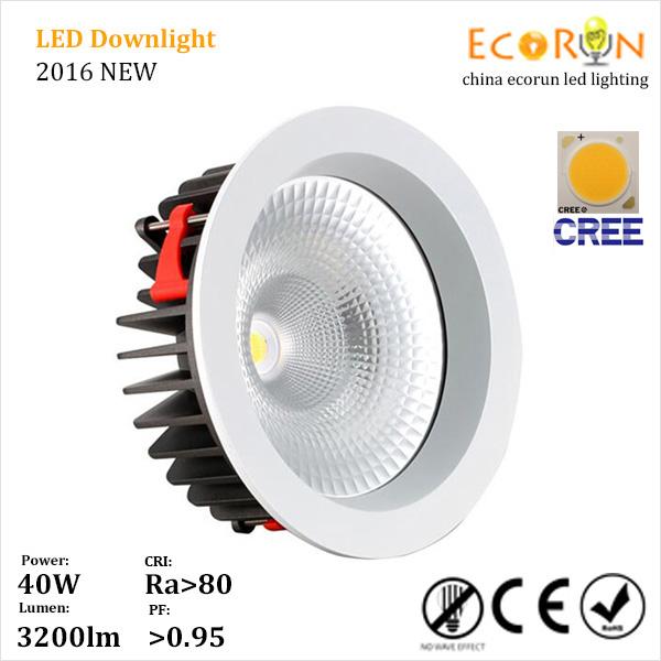 buy online 40b6d d756f hot sale china market cob led downlighting 15w 20w 30w 40w led cob downlight