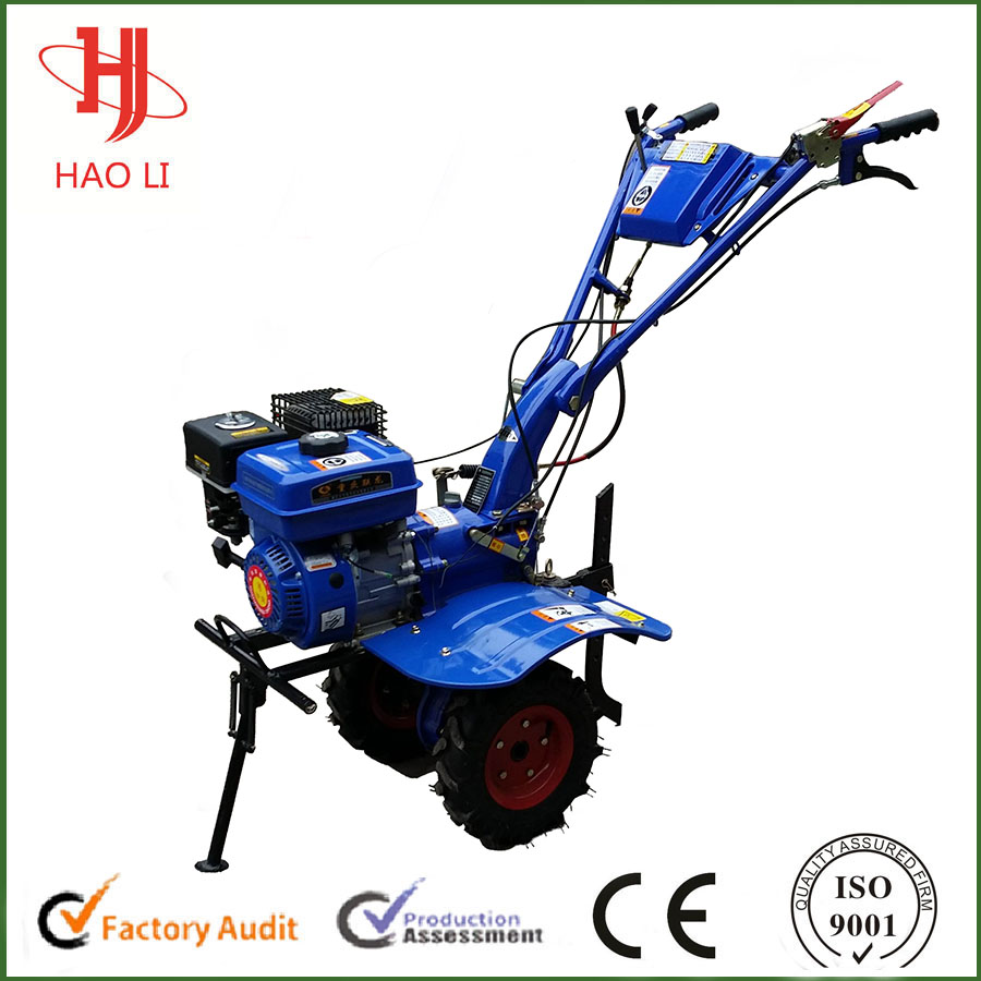 The new condition 4.0kw 170F 5.5hp to 7.5hp gasoline tiller cultivator