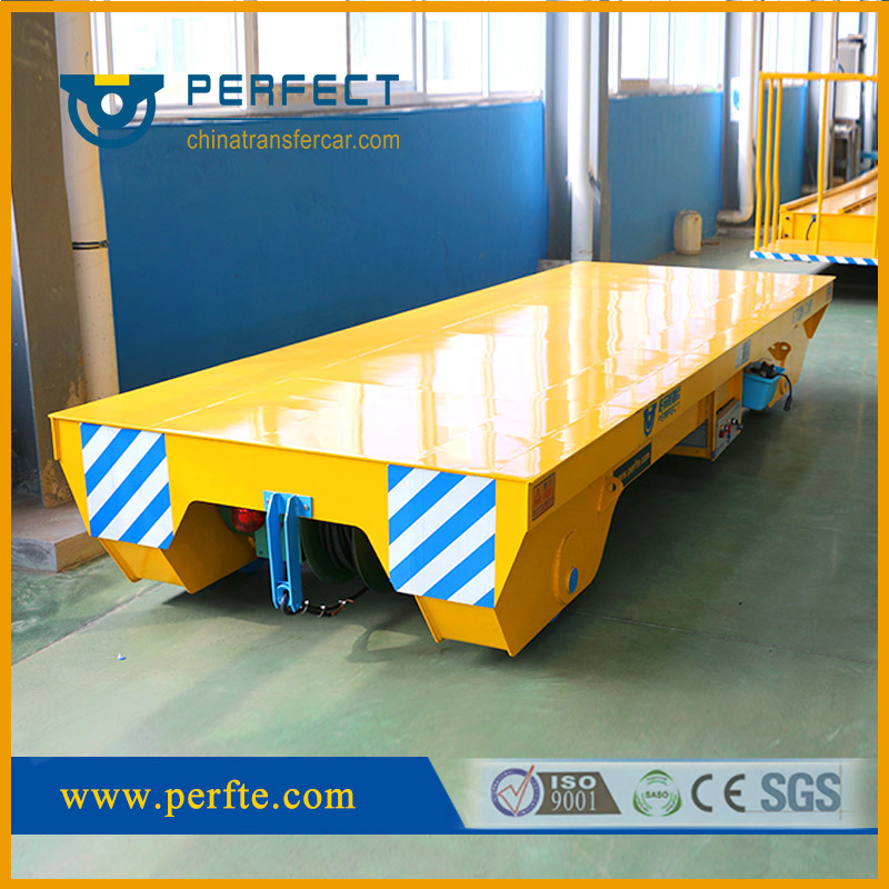 rail flat transfer car, industrial transfer trailer