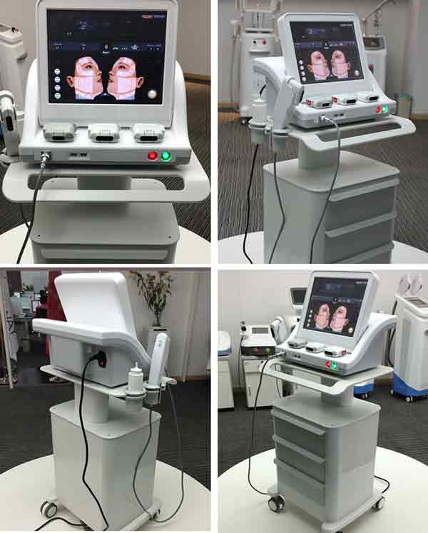 HIFU face lift skin tightening wrinkle removal machine on sale