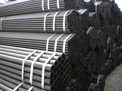 Black steel pipe factory/ China manufacturerd  Welded Steel Pipe