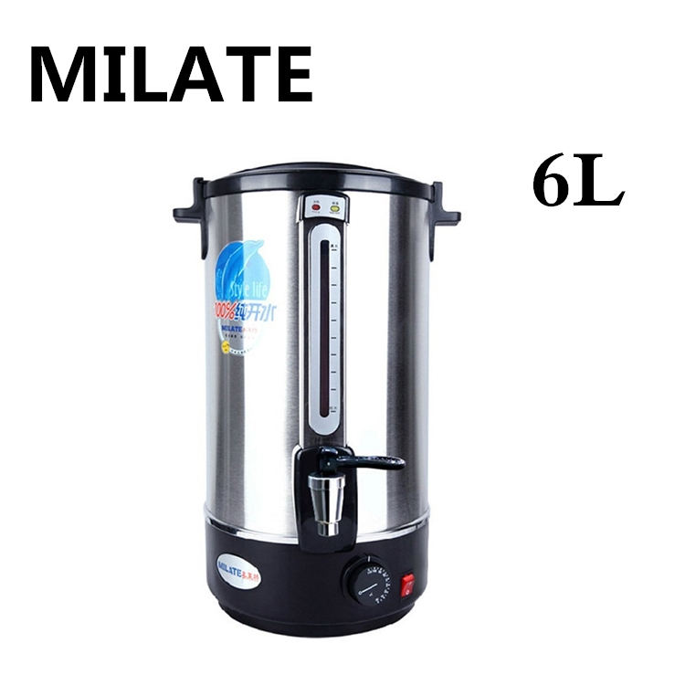 Commercial Electric Water Boiler 6 Liter Capacity Water Boiling Machine