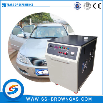 Oxyhydrogen Gas Generator Car Care Engine Carbon Cleaning  Equipment CCM-3000