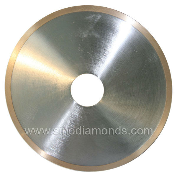 continuous rim diamond saw blades for cutting porcelain and ceramic