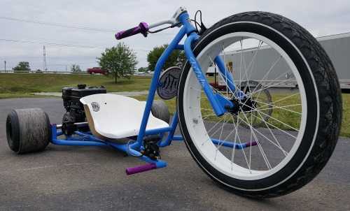 Gas Powered Drift Trike Tricycle Bike Fat Ryder Motorized Big Wheel