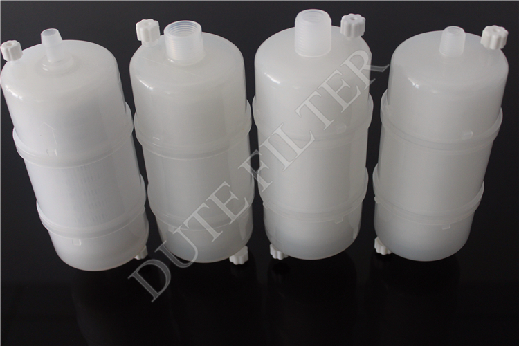 Wide Chemical Compatibility Water Analysis Capsule Filter