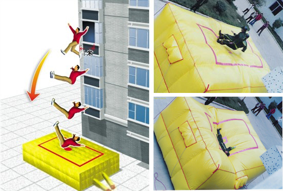 Jumping cushions,Air bag,escape cushion,Rescue Air cushions