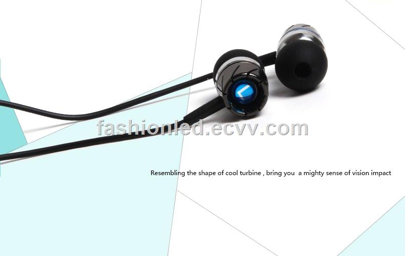 in Ear Bass Earphone with Microphone Metal Earphone with Mic for iPhone Samsung Lenovo Huawei