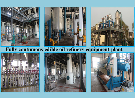 520tpd edible oil refinery equipment