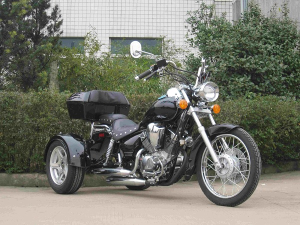 250cc 3 Wheel V Twin Trike Motorcycle With Dual Exhaust And Lifan Engine: Dual Exhaust Bikes At Woreks.co