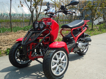 DF-MOTO 150cc Trike Scooter from China Manufacturer