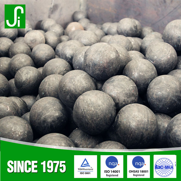 carbon steel material forged grinding media balls for ball mill