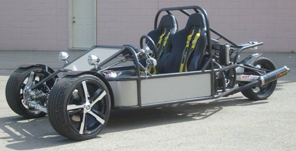 1300 based Reverse Trike from China Manufacturer