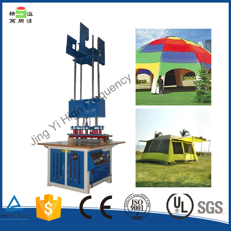 Hanging Style high frequency canvas tent tarpaulin welding machineJY8000FB