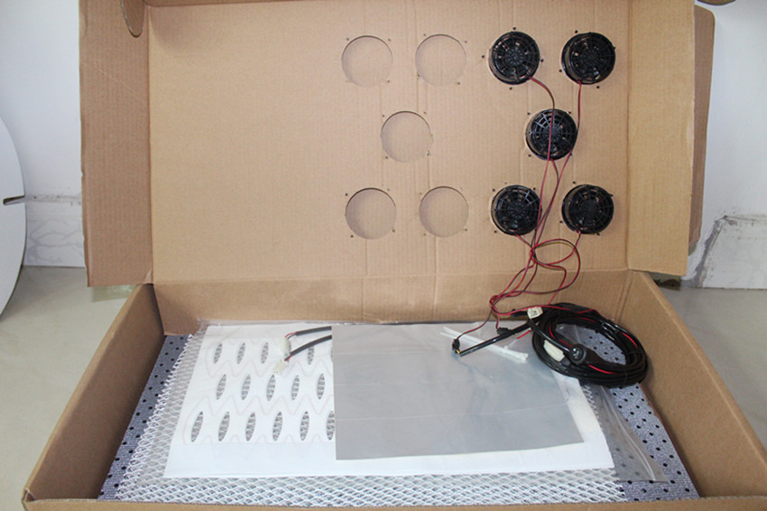 Heating And Cooling Car Seat Cushion Ventilation System