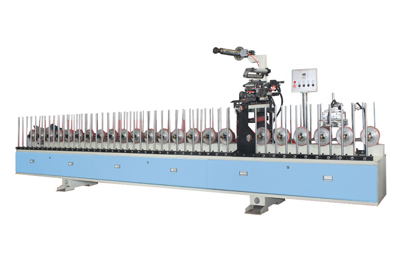 High efficient china suppier PUR profil wrapping machine
