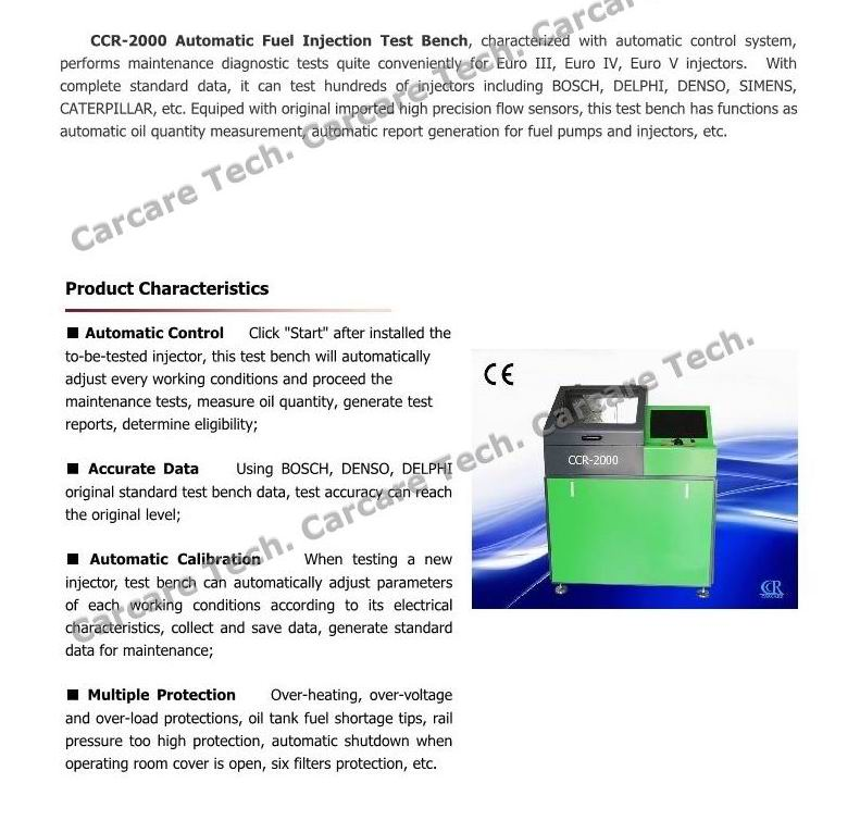 Fuel Injector Oil-Return Testing Injector Idle Test Software