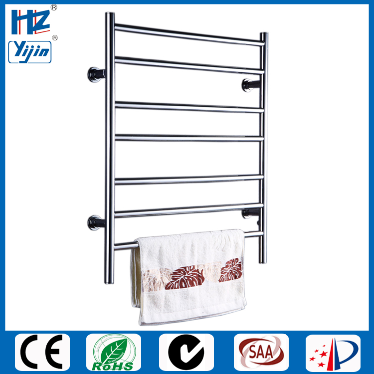 stainless steel polished electric heated towel rail warmer 926