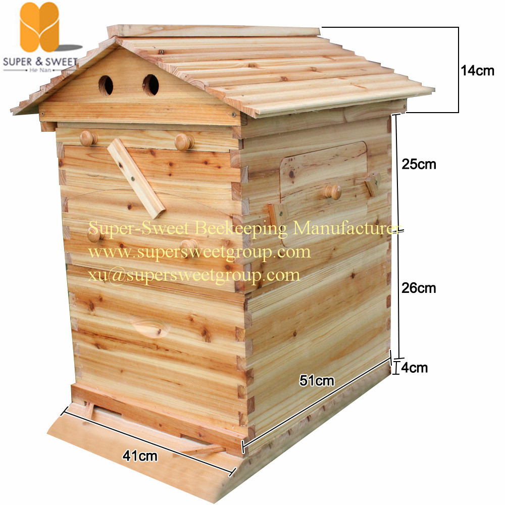 Beekeeping Tool 7 Pcs Frames Honey Self Flowing Bee Hive Frame