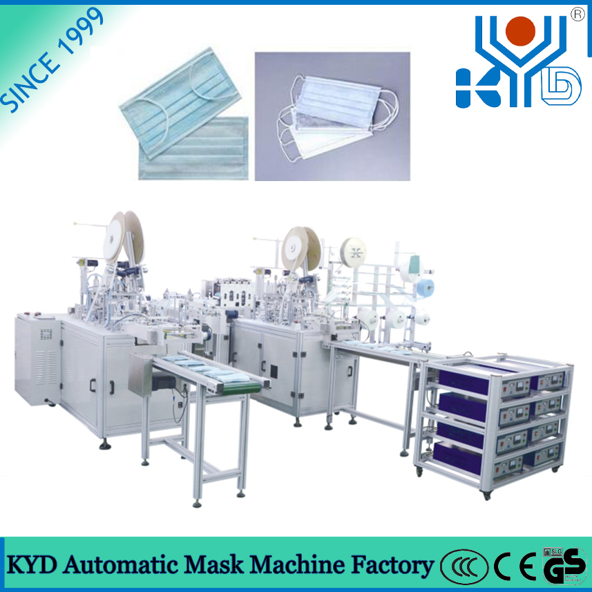 From Making Machine China Face Surgical Mask Disposable And