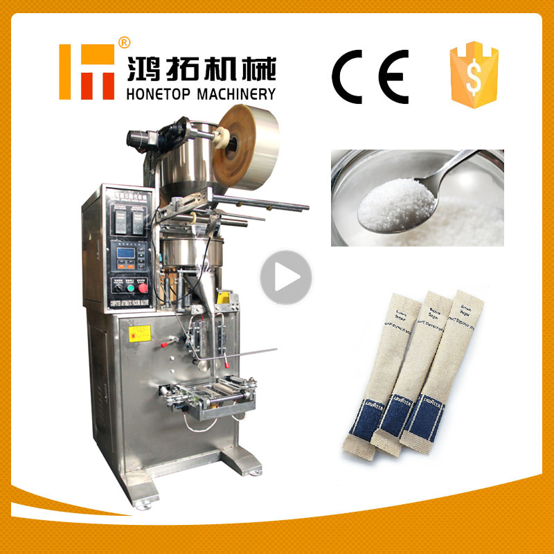 Granule 1-300g sugar stick packaging machine