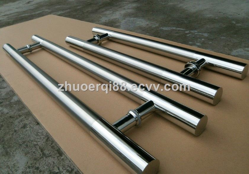 Satin Dot Finish High Quality Stainless Steel Glass Door Handle Shower  Glass Door Handle