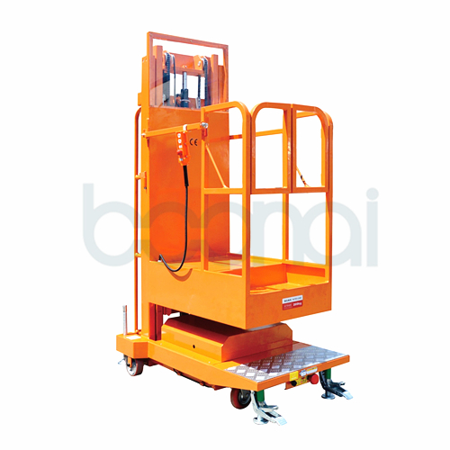 2.7m Lifting Equipment Mobile Aerial Stock Picker (Double Masts)