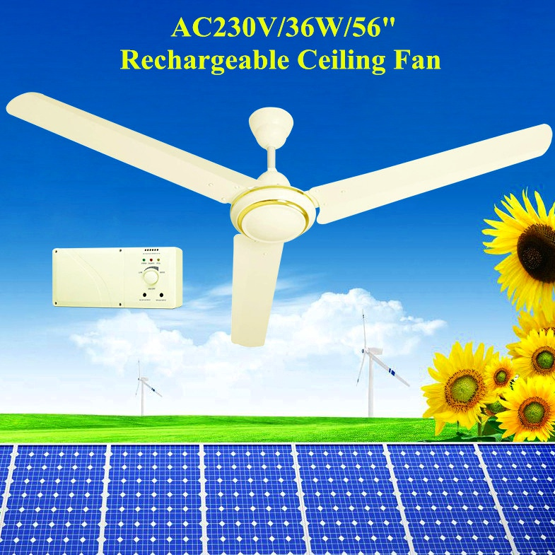 56 ac dc solar rechargeable ceiling fan with dc12v brushless motor 56 ac dc solar rechargeable ceiling fan with dc12v brushless motor aloadofball Choice Image