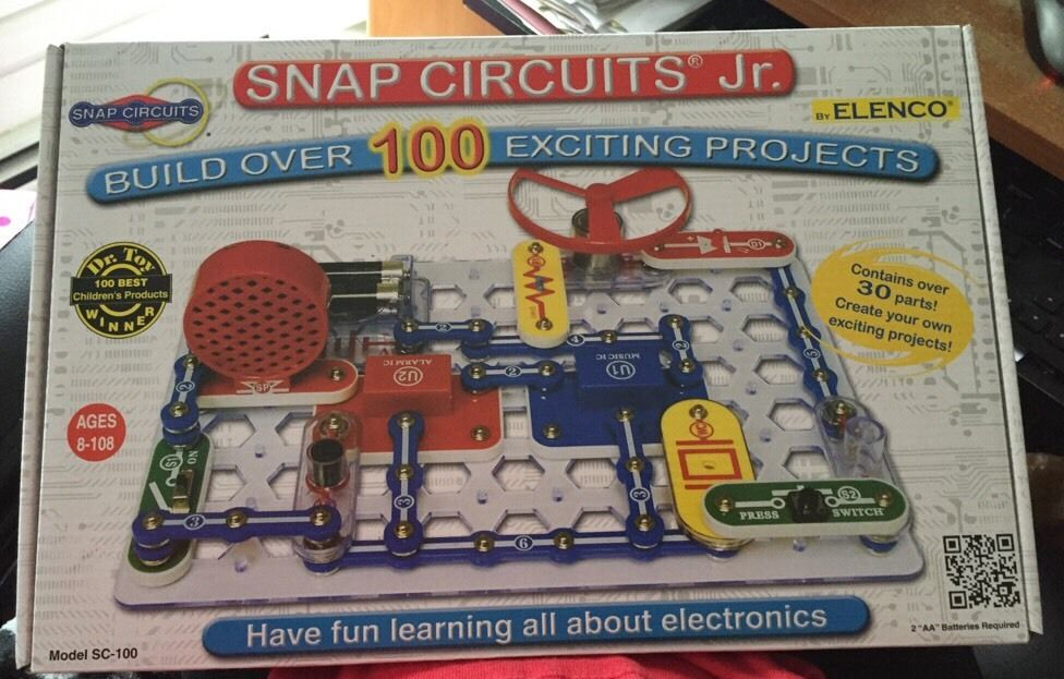 b7b38735c Snap Circuits Jr. SC-100 Electronics Discovery Kit from Australia ...