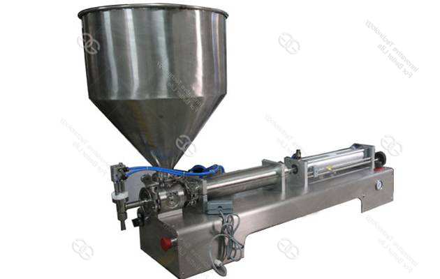 Semi-automatic Bottle|Peanut Butter|Bean Butter|Ginger Paste|Garlic Paste filling machine