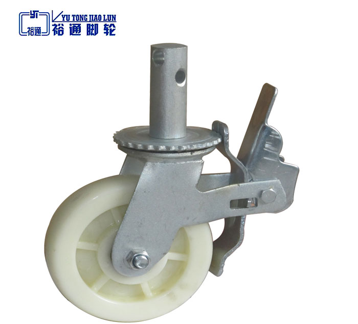 Rubber Scaffolding Caster