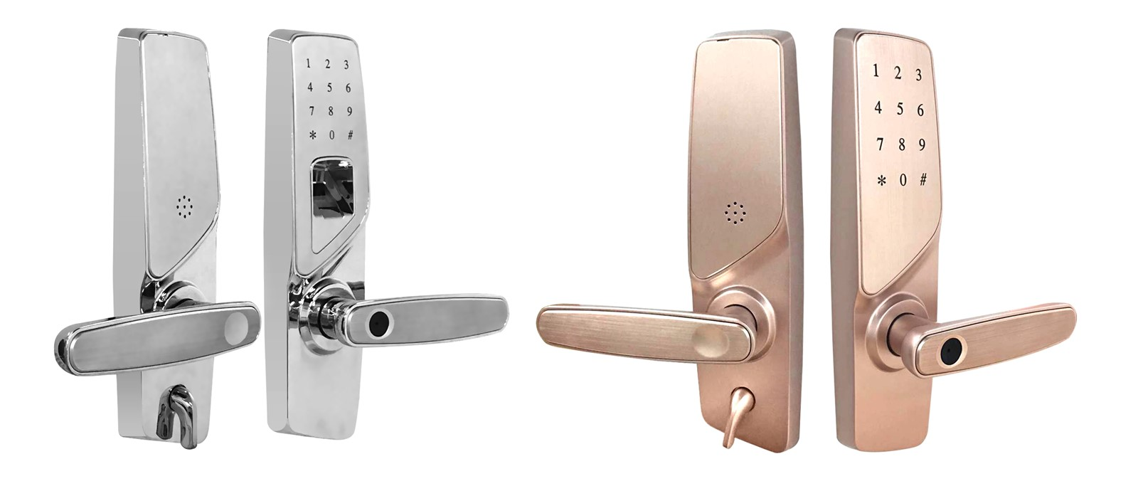 Fingerprint Coded Door Lock