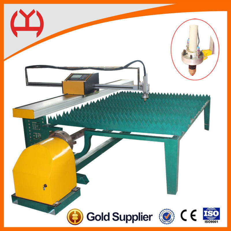 Cheap cnc steel tube cutting machine