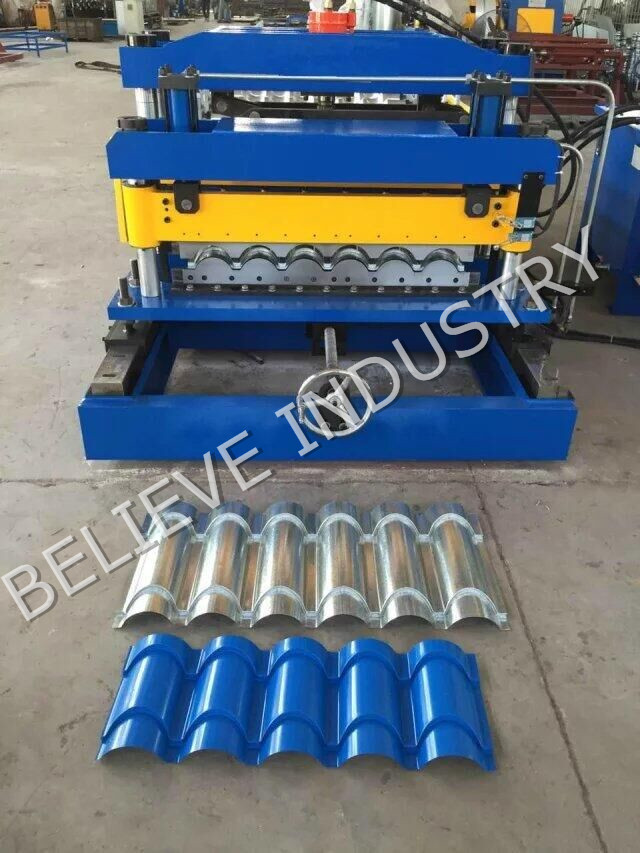 Customized Metal Roof Tile Roll Forming Machine